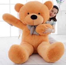 140cm Huge Giant Plush Brown Teddy Bear Big Stuffed Animal Soft Cotton Toy Gift