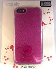 Paillettes iPhone 5 Housse-rose-Xqisit
