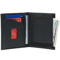 Alpine Swiss RFID Blocking Slim Front Pocket Wallet Leather Business Card Case