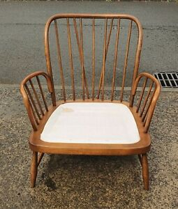 ERCOL WINDSOR JUBILEE GOLDEN DAWN ARMCHAIR   FRAME ONLY     DELIVERY AVAILABLE