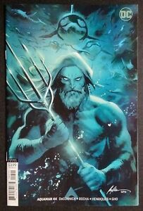 Aquaman #44 Albuquerque Virgin B Variant 1st  App of Namma