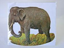 Mamelok Press ~ ELEPHANT Greeting Card ~ Die cut & Embossed Rocker Card ~ 1994©