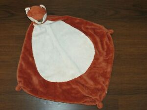 Angel Dear Fox Red White Tummy Soft Security Blanket Baby Lovey Baby Toy 2015