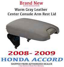Genuine OEM Honda Accord EX Gray Leather Armrest Lid 2008-2009 (83450-TA0-A11ZB)