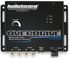 AudioControl OVERDRIVE PLUS 2 Channel 24 dB Gain Pre Amp RCA Voltage Line Driver
