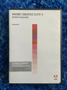 Adobe Creative Suite 4 Design Standard Student Edition Windows
