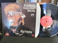 rettore Kamikaze rock'n'roll Suicide LP '82 DONATELLA punk disco funk italy rare