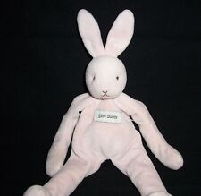 "10.5"" Bunnies by the Bay Pink Bunny Rabbit Silly Buddy Plush Stuffed Lovey"