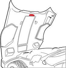 1984-1991 Corvette C4 Hood & Distributor Anti Vibration Protector 609633