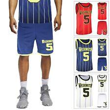 Tuta Uomo Completo Sportivo T-Shirt+Bermuda Casual Maglia Shorts Sport Veque