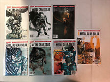 Metal Gear Solid Sons Of Liberty (2005) #0 1-12 (VF+/NM) Complete Set IDW Konami