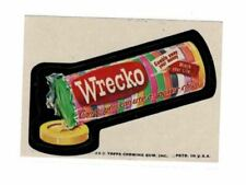 1975 Topps Wacky Packages Necco Wrecko Wafers 12th Series 12 NM-