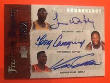 2007-08 Chronology Dominique Wilkins / James Worthy / Terry Cummings Auto #/25