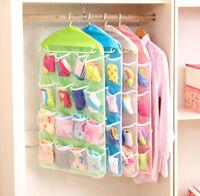 Organizzatore abbigliamento organizer calzini trucchi armadio ordine 16 tasche
