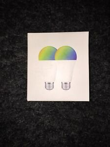 Govee Smart WiFi LED Color Light Bulbs 2 Pack RGB Dimmable E27  New Sealed