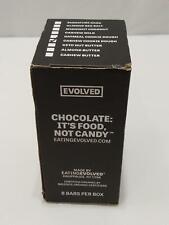 New listing Evolved Organic Cashew Cookie Dough Filled Dark Chocolate Bar 8 Bb:08/2021 042