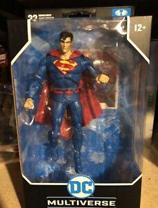 DC Multiverse Mcfarlane Toys  Rebirth Superman figure New 2021
