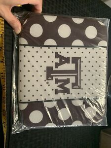 """MSC Mainstreet Collection Texas A&M Zippered Tablet Case 8"""" X 10"""""""