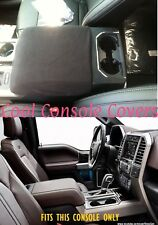 FORD F150 F250  2011 - 2018 Black Armrest Console Cover