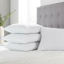 Two and Four Pack Super Deluxe Bounce Back Pillows, 1 & 2 Pairs - 4 Bedding Set