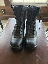 "Bates size 9 Men's 8"" Tactical black Sport Side Zip Boot"