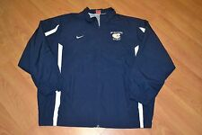 UW Eau Claire Blugolds Hockey Zip Up Nike Track Jacket XXL 2XL Nice Wisconsin