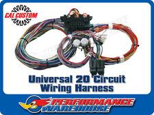UNIVERSAL 20 CIRCUIT WIRING HARNESS HOT ROD MUSCLE CAR CUSTOM - FANTASTIC KIT!!!