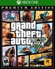 Grand Theft Auto V 5 Premium Edition (Microsoft Xbox One XB1) Brand New Sealed