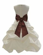 JUNIOR PAGEANT DRESS FLOWER GIRL FORMAL TODDLER RECITAL BIRTHDAY RECEPTION TEENS