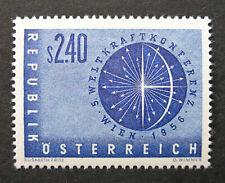 Austria 1956 Scott #611 Mh Og - Scott 2010 Catalogue Value $12.00 Mnh!