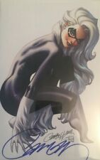 Black Cat #1 *** Golden Apple Limited Virgin Cover (Signed with COA) ***