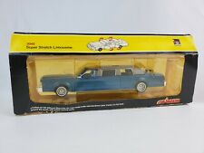 Majorette Super Stretch Lincoln Limousine Blue 3045 New in package Limo France