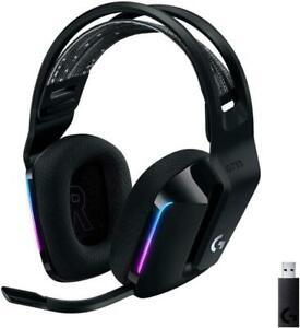 Logitech G733 Over-Ear Adjustable Wireless Gaming Headset - Black