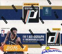 2016/17 Panini Donruss Basketball Sealed 24 Pack Retail Box-AUTOGRAPH/MEM