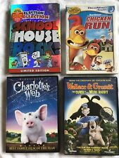 School House Rock, Chicken Run, Charlotte's Web & Wallace and Gromit