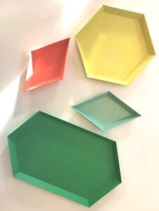 DWR Authentic HAY Enamel Tray | Set Of Four Design Within Reach KALEIDO