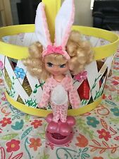 #6581 New Displayed Target Stores Barbie Easter Hoppy Spring Kelly Bunny in Pink