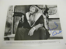 MICHAEL CAINE - 8x10 SIGNED BLACK & WHITE PHOTO WITH AUTOGRAPH-GREAT IMAGE!