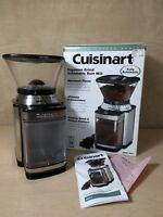 Cuisinart Burr Coffee Grinder~Mill~DBM-8~Automatic~Stainless Steel~Supreme Grind