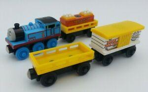 2003 Thomas & Friends Wooden Railway Talking Thomas Chicken Car & Egg Cars Sound