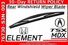 Genuine OEM Honda/ Acura Rear Tailgate Wiper Blade                 76730-S3N-003