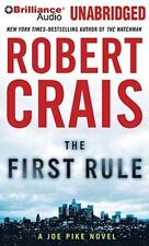The First Rule  Elvis Cole/Joe Pike Series  2010 by Crais, Robert 142 Ex-library