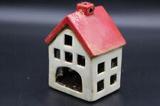 Tea light Vintage Ceramic House Lantern Candle Tea Light Candle Holder Home