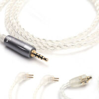 TRN 2.5mm Balanced Earphone Upgrade Cable Silver-Plated 0.75mm 0.78mm MMCX Cable