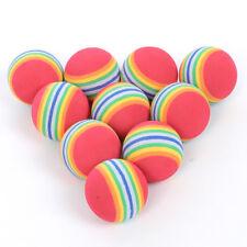 10Pcs Foam Sponge Golf Training Soft Balls Elastic Indoor Outdoor Practice Us