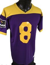 Vtg 70's Russell Athletic Men's JAI-ALAI Sport Purple Yellow #44 Jersey L