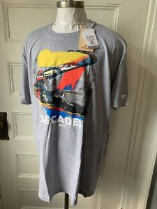 Nascar Fanatics T Shirt Decades of Racing - New with tags  Size 3XL