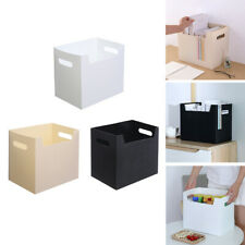 Simple Desktop Storage Box Collapsible Books Box Organizer For Cloth Toy