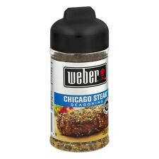 Weber Grill Creations Chicago Steak Seasoning, 5.5 oz (Pack of 12)