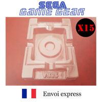 15X Cales plastiques neuves boite de jeu Game Gear GG - insert inner tray inlay